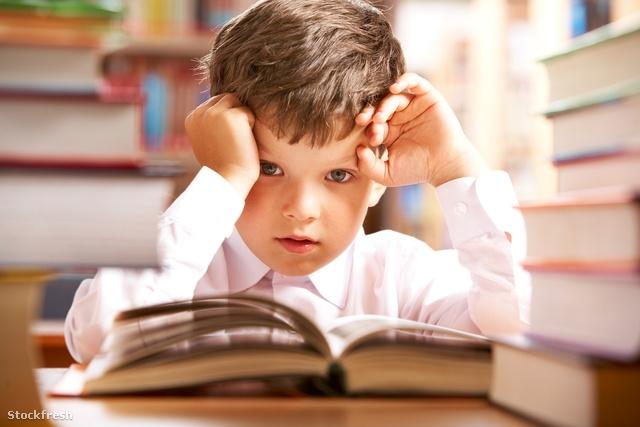 Фото ребенка с учебником 10